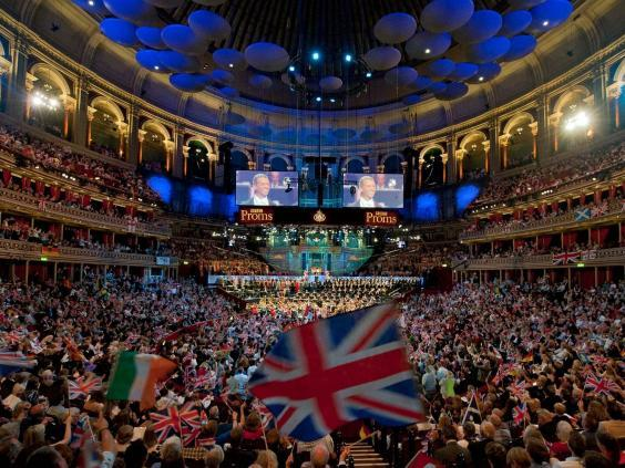'Rule, Britannia!' will be sung at the Last Night of the Proms in 2021 (EPA)