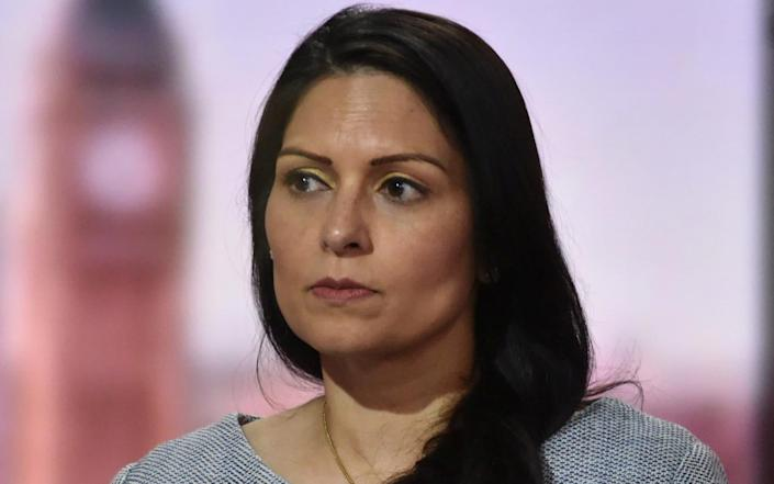 Priti Patel will say that anything will say anything less than 'wholesale reform' of the immigration system would not meet the demands of the public - Jeff Overs/BBC/Reuters