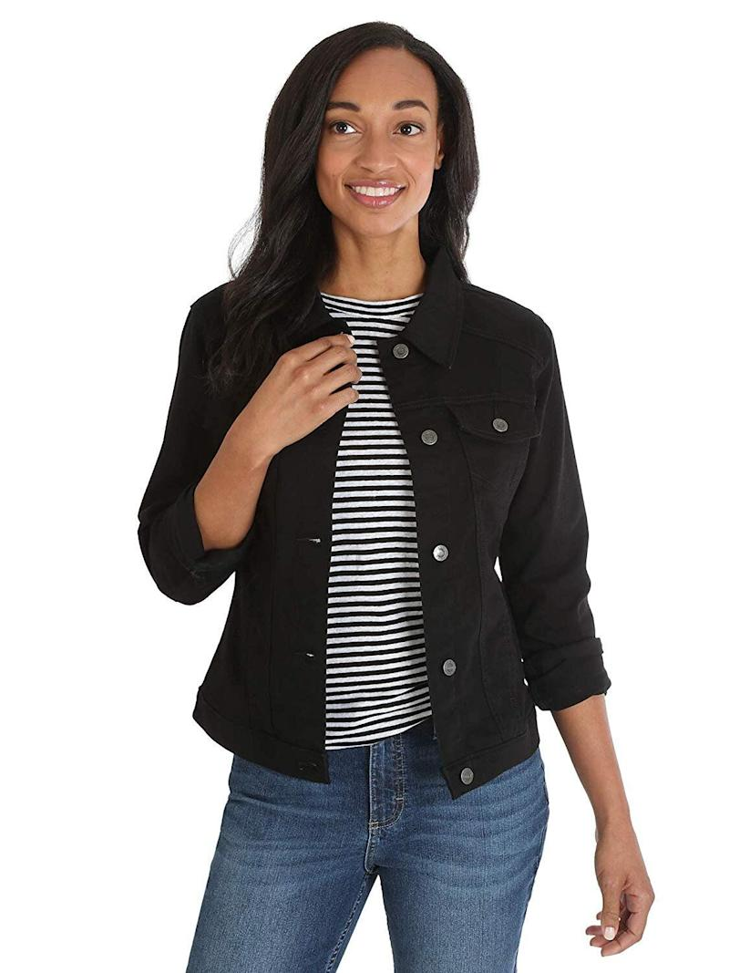 b35543ed1ae Amazon s best-selling denim jacket is  30 with hundreds of reviews