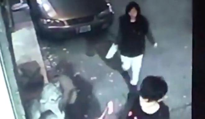 Security footage captures Poon before her murder in Taipei two years ago. Photo: Handout