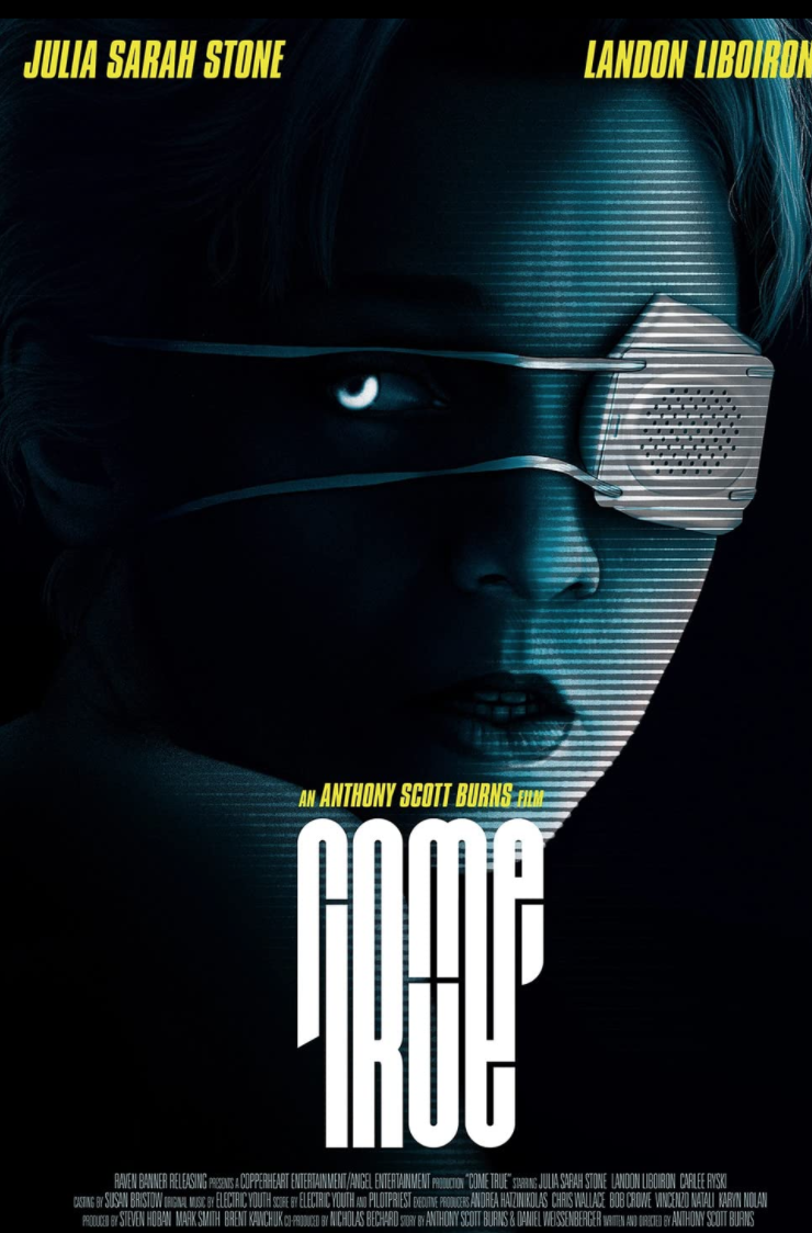 <p><em>Come True</em> looks to find sci-fi horror in the topic of sleep and dreams. Here's hoping it proves to be the sort of psychological thriller the concept calls for.</p>