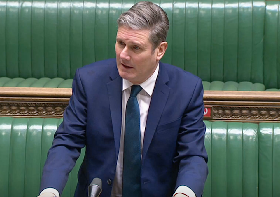 <p>Labout Party leader Keir Starmer</p> (Reuters TV)