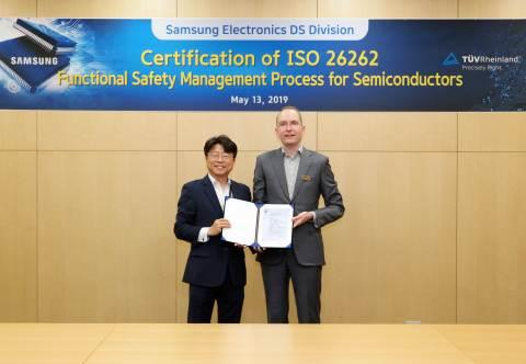 Samsung Enhances Functional Safety to its Automotive Semiconductors with ISO 26262 Certification