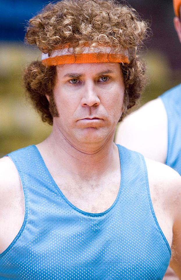 """<b>Bench:</b><br>Jackie Moon (Will Ferrell) in """"Semi-Pro"""" (2008) -- Okay, granted, he's not the most skilled player, but his talent with handling the referees comes in very handy."""