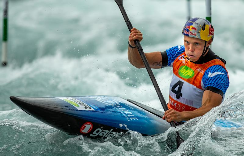 Slalom World Cup - Lee Valley 2019. Pic: AEPhotos