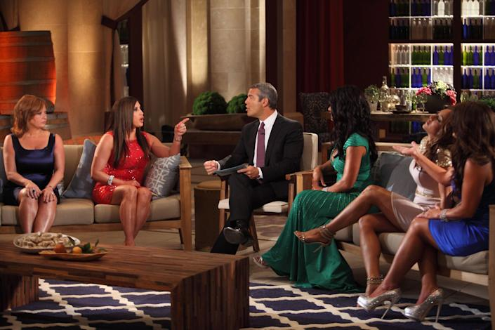 <p>Since 2006, Bravo and executive producer Andy Cohen have brought us nonstop drama with the <em>Real Housewives </em>franchise. While it may SEEM like these ladies have zero rules—you know, given all the ponytail pulling and wine glass throwing—it turns out there are quite a few, and I'm here to break them all down. BTW, they're a lot more intense and harsh than one may assume! So grab yourself a glass of pinot and settle in. </p>