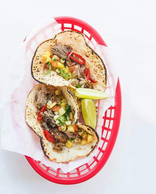 Slow cooker tacos