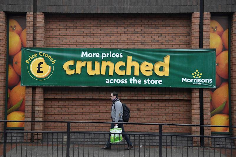 Sunny days: Morrisons saw shoppers snap up barbecue goods in the first half of the year: REUTERS
