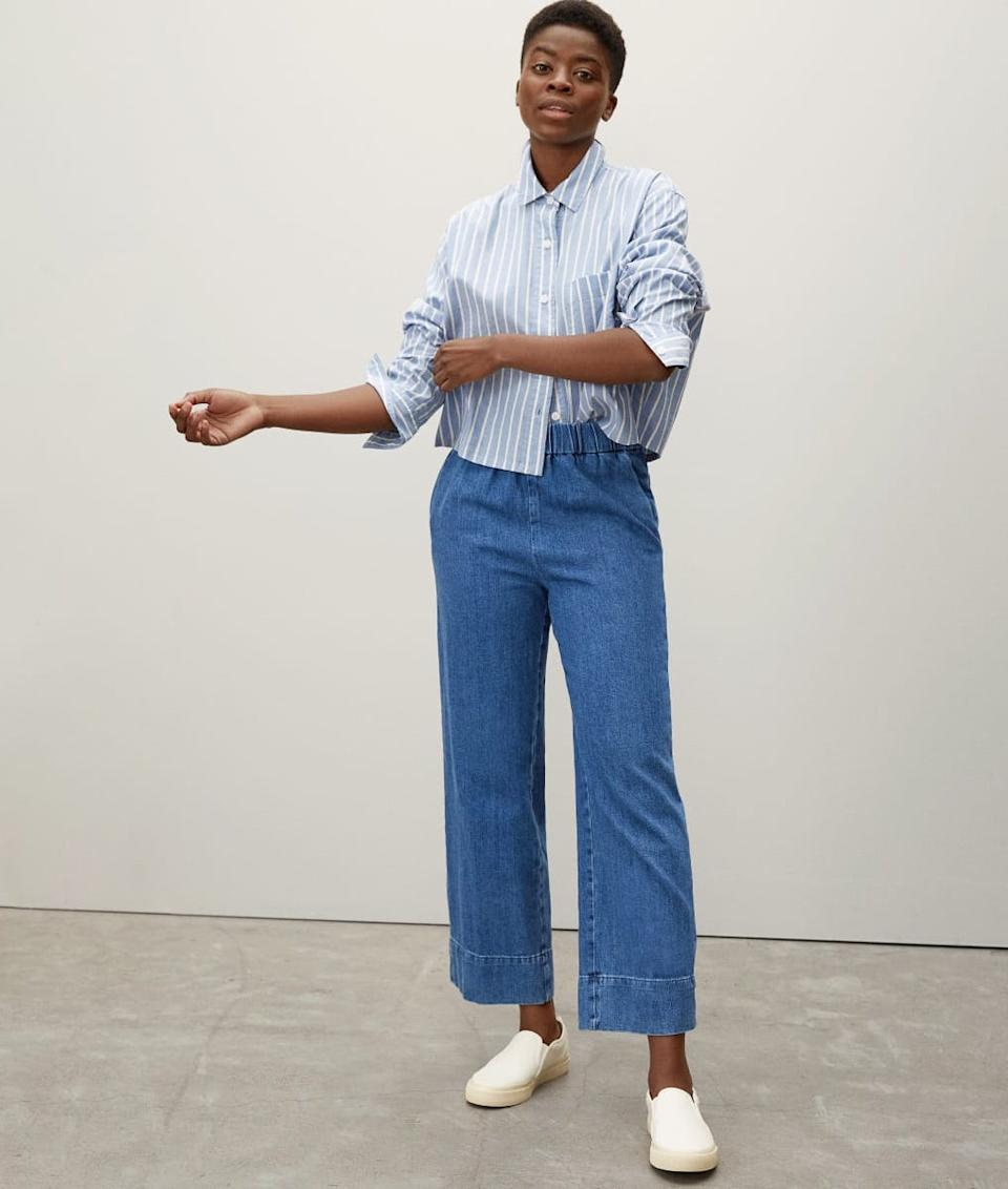 The Easy Jean. Image via Everlane.