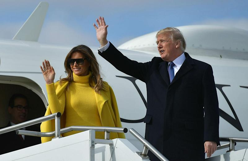 Donald Trump claims he got a $1m discount on Melania Trump's engagement ring: Getty Images