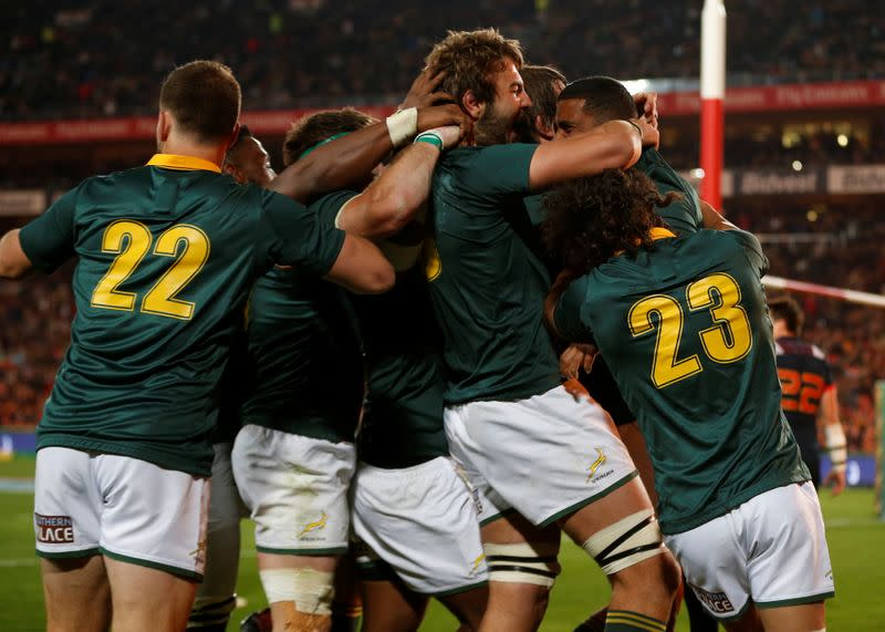 Rugby Union - South Africa v France