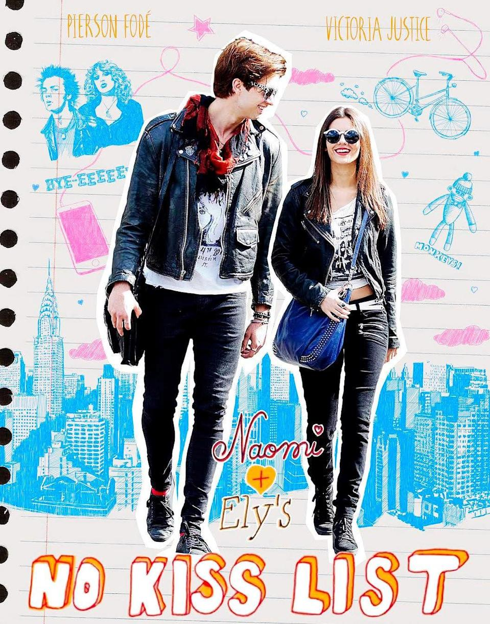 """<p>When best friends Naomi (Victoria Justice) and Ely (Pierson Fode) both fall in love with the same guy, they find themselves wondering if their bond is strong enough to withstand the rift, and what matters more in life: friendship or romance?</p> <p>Watch <strong><a href=""""http://www.netflix.com/title/80079470"""" class=""""link rapid-noclick-resp"""" rel=""""nofollow noopener"""" target=""""_blank"""" data-ylk=""""slk:Naomi and Ely's No Kiss List"""">Naomi and Ely's No Kiss List</a></strong> on Netflix now.</p>"""