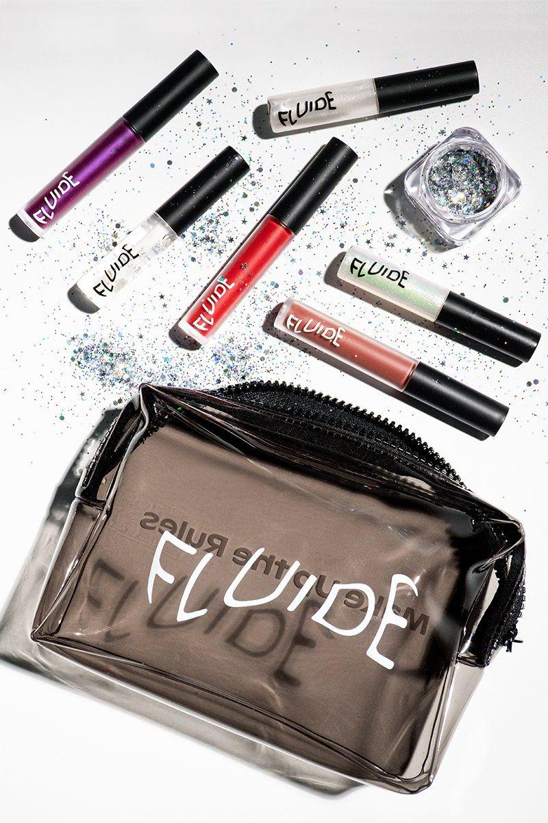 """<h3>Fluide</h3><p>This set of Fluide's best-selling products — which includes a few of its long-lasting lipsticks named after queer landmarks — is not only 50% off in honor of Pride, but $5 of every sale goes to the <a href=""""https://callen-lorde.org/"""" rel=""""nofollow noopener"""" target=""""_blank"""" data-ylk=""""slk:Callen-Lorde Community Health Center"""" class=""""link rapid-noclick-resp"""">Callen-Lorde Community Health Center</a>, which provides quality health-care services to New York City's lesbian, gay, bisexual, and transgender communities.</p><br><br><strong>Fluide</strong> Galaxy Pride Pack, $48, available at <a href=""""https://www.fluide.us/products/galaxy-pride-pack"""" rel=""""nofollow noopener"""" target=""""_blank"""" data-ylk=""""slk:Fluide"""" class=""""link rapid-noclick-resp"""">Fluide</a>"""