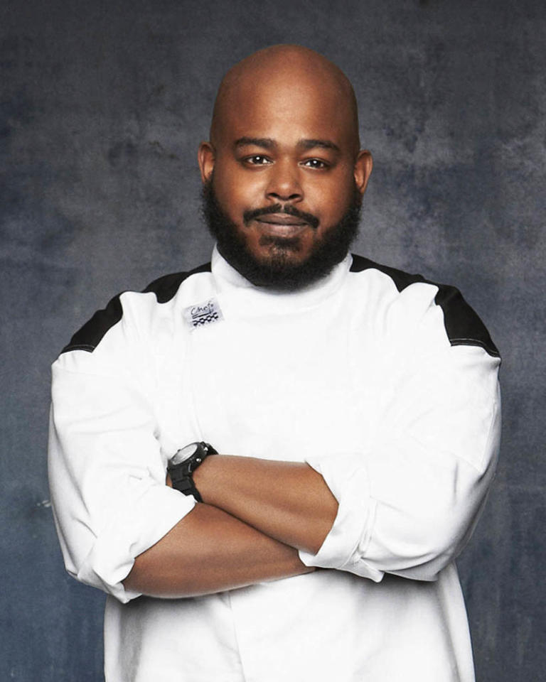 "HELL'S KITCHEN: Zach Womack (Philadelphia, PA) is a contestant on Season 11 of ""Hell's Kitchen."""