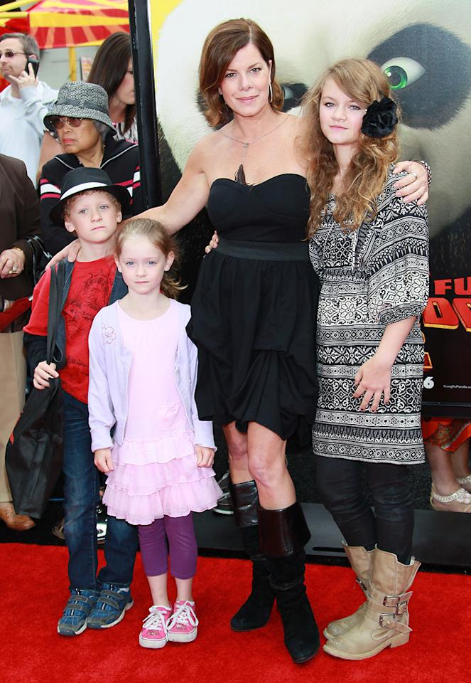 "Marica Gay Harden attends the Los Angeles premiere of <a href=""http://movies.yahoo.com/movie/1810090593/info"">Kung Fu Panda 2</a> on May 22, 2011."