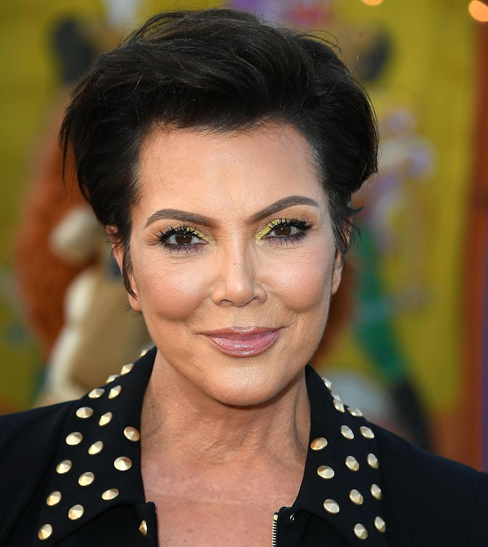 Kris Jenner on the red carpet last year. (Photo: Getty Images)
