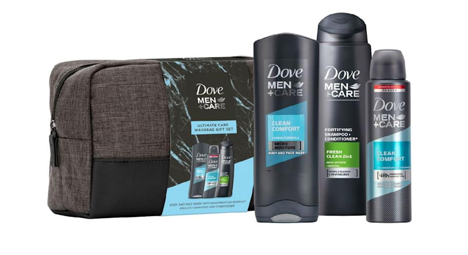 Dove Men+Care Washbag Gift Set