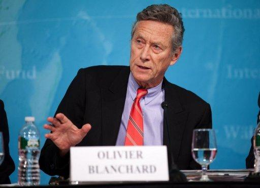 International Monetary Fund's Economic Counsellor and Director of the Research Department Olivier Blanchard is pictured