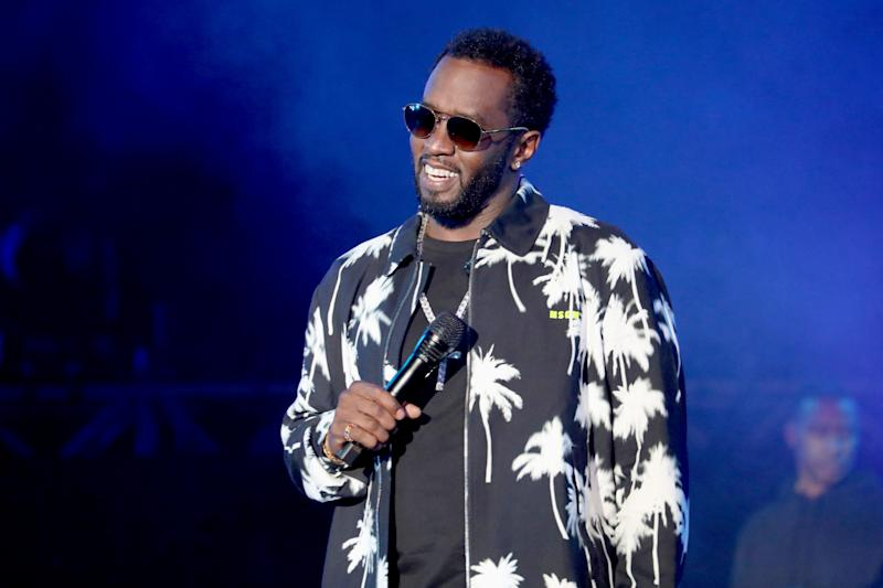 VIRGINIA BEACH, VIRGINIA - APRIL 27: Diddy performs onstage at SOMETHING IN THE WATER - Day 2 on April 27, 2019 in Virginia Beach City. (Photo: Brian Ach/Getty Images for Something in the Water)