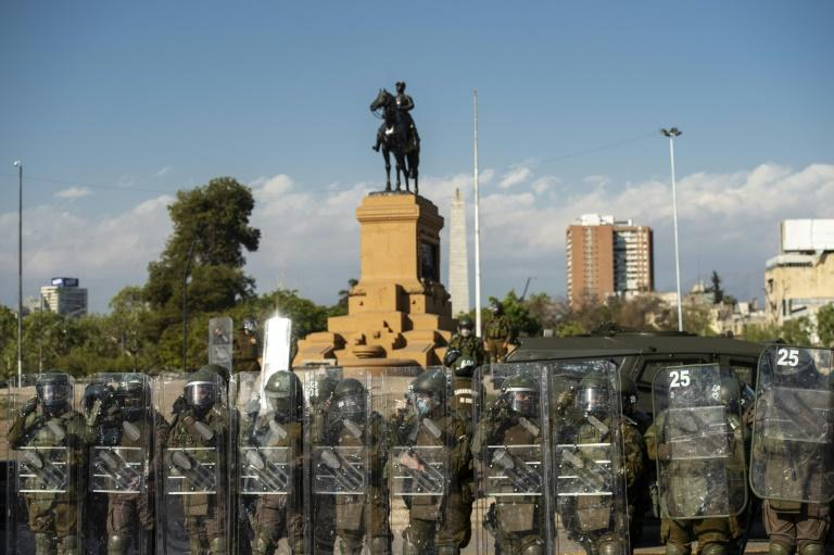 Chile president condemns police violence against protesters