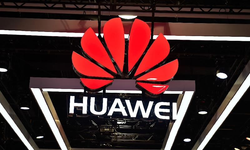 Huawei has been a lightning rod in Washington for concerns on national security but denies any links to the Chinese government (AFP Photo/David Becker)