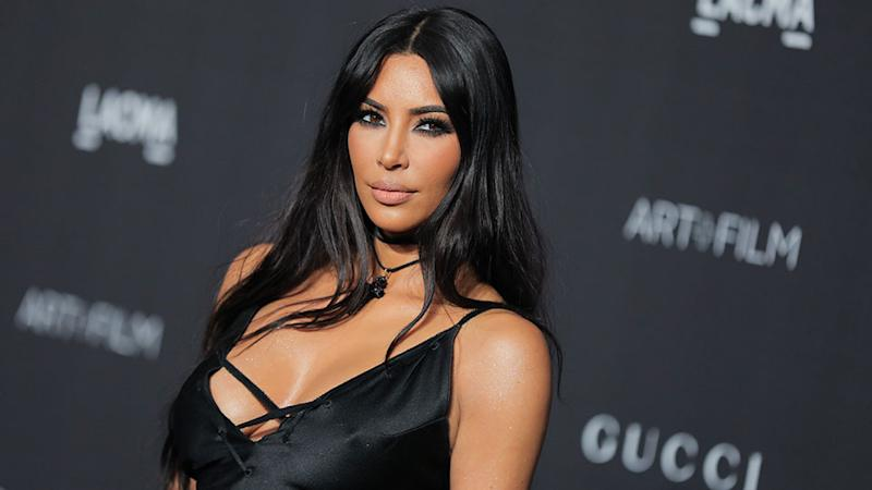 Kim Kardashian shared a family Halloween photo with a hilariously bad Photoshop