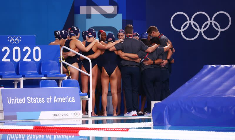 Water Polo - Women - Group B - Hungary v United States