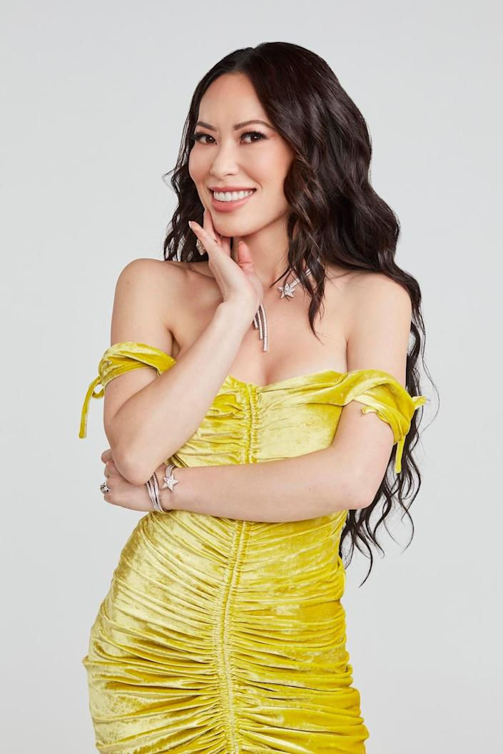 """Christine Chiu """"Dancing with the Stars"""" cast photo"""