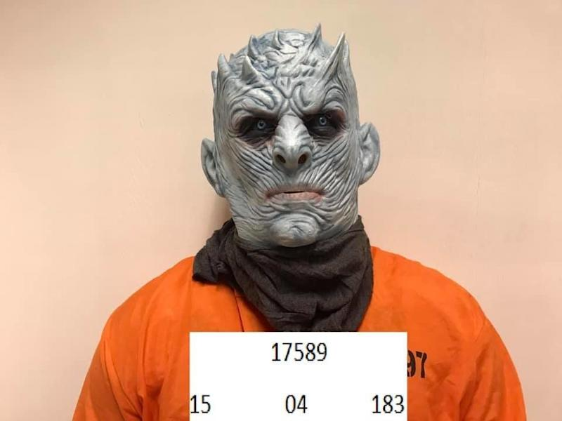 The Night King in the custody of the Norwegian police (Photo: Politiet i Trondheim via Facebook)