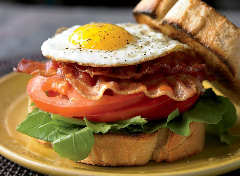 Healthy ultimate blt