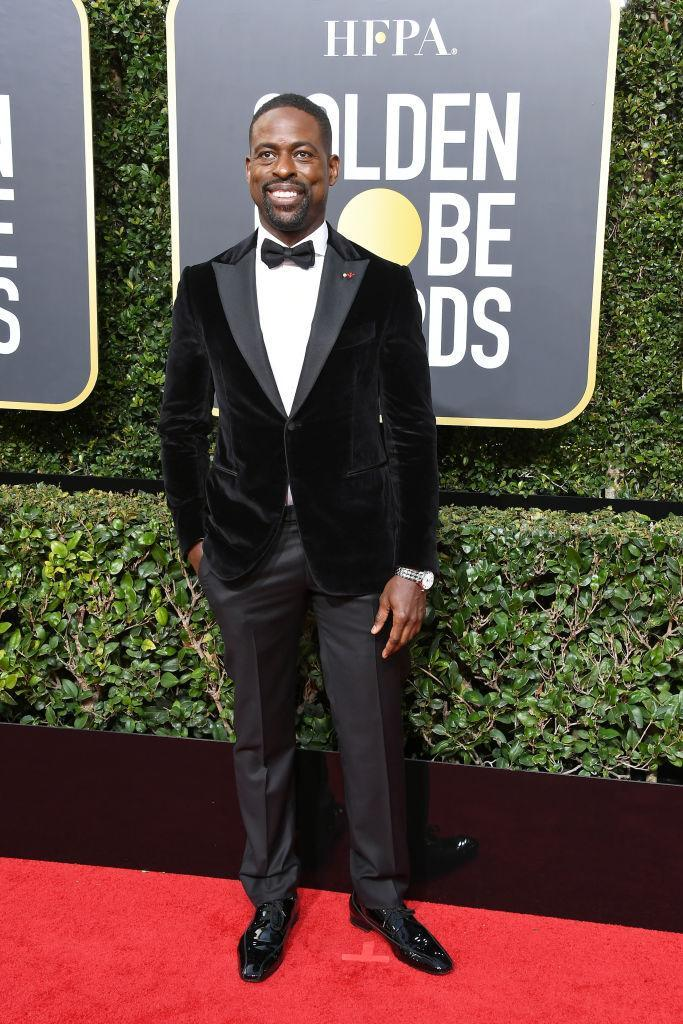 <p>The <em>This Is Us</em> star, who won the award for Best Performance by an Actor in a Television Series, attends the 75th Annual Golden Globe Awards at the Beverly Hilton Hotel in Beverly Hills, Calif., on Jan. 7, 2018. (Photo: Steve Granitz/WireImage) </p>