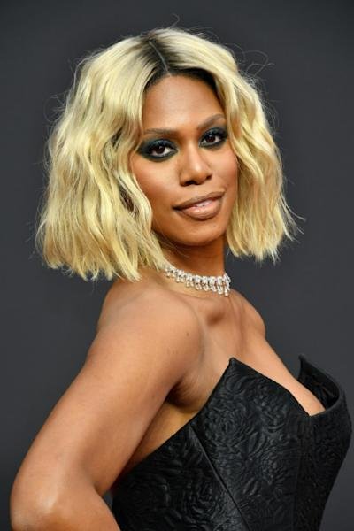Laverne Cox attends the 2019 Creative Arts Emmy Awards on September 15, 2019 in Los Angeles, California