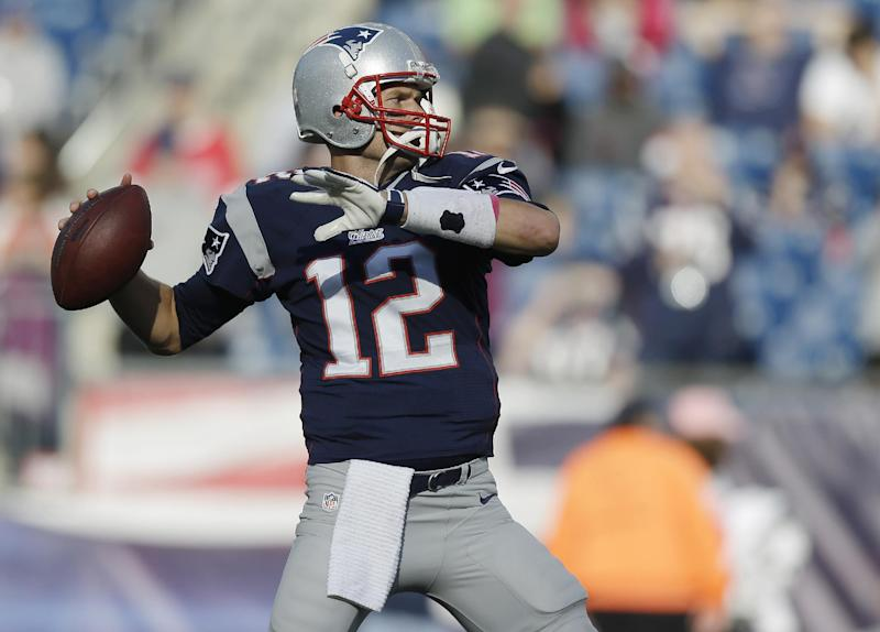 Tom Tremendous: Brady rallies Patriots over Saints