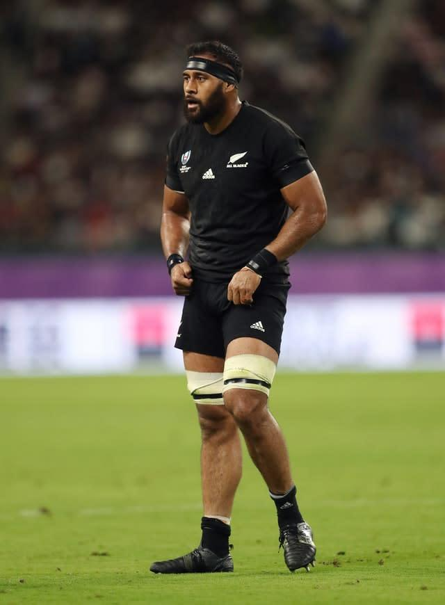 Patrick Tuipulotu has played an important role for New Zealand in the World Cup (David Davies/PA)