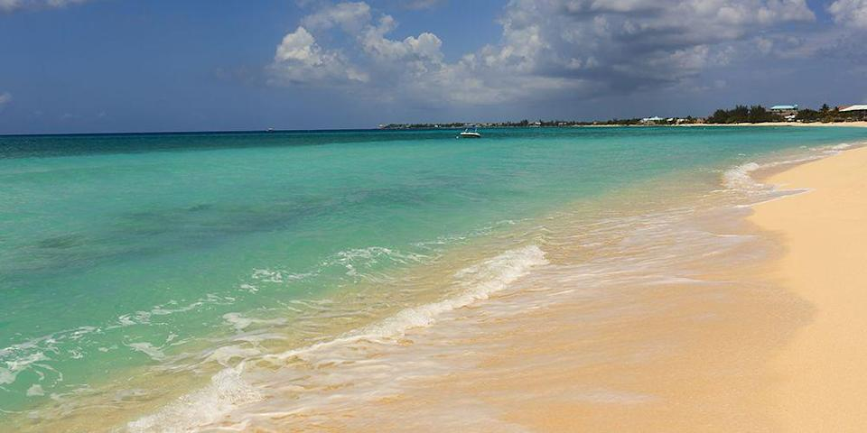 """<p>Located on Grand Cayman's western shore, <a href=""""https://www.tripadvisor.com/Attraction_Review-g147367-d2385044-Reviews-Seven_Mile_Beach-Seven_Mile_Beach_Grand_Cayman_Cayman_Islands.html"""" rel=""""nofollow noopener"""" target=""""_blank"""" data-ylk=""""slk:Seven Mile Beach"""" class=""""link rapid-noclick-resp"""">Seven Mile Beach</a> is one of the Caribbean's most celebrated strands. It seems to go on forever (it's 7 miles long), and while you'll find luxury resorts and seafood restaurants, there are also plenty of quiet stretches for peaceful strolls. </p><p><a class=""""link rapid-noclick-resp"""" href=""""https://go.redirectingat.com?id=74968X1596630&url=https%3A%2F%2Fwww.tripadvisor.com%2FHotel_Review-g1006573-d149271-Reviews-Holiday_Inn_Resort_Grand_Cayman-West_Bay_Grand_Cayman_Cayman_Islands.html&sref=https%3A%2F%2Fwww.redbookmag.com%2Flife%2Fg34756735%2Fbest-beaches-for-vacations%2F"""" rel=""""nofollow noopener"""" target=""""_blank"""" data-ylk=""""slk:BOOK NOW"""">BOOK NOW</a> Holiday Inn Resort Grand Cayman</p><p><a class=""""link rapid-noclick-resp"""" href=""""https://go.redirectingat.com?id=74968X1596630&url=https%3A%2F%2Fwww.tripadvisor.com%2FHotel_Review-g147367-d149184-Reviews-Grand_Cayman_Marriott_Beach_Resort-Seven_Mile_Beach_Grand_Cayman_Cayman_Islands.html&sref=https%3A%2F%2Fwww.redbookmag.com%2Flife%2Fg34756735%2Fbest-beaches-for-vacations%2F"""" rel=""""nofollow noopener"""" target=""""_blank"""" data-ylk=""""slk:BOOK NOW"""">BOOK NOW</a> Grand Cayman Marriott Beach Resort</p>"""