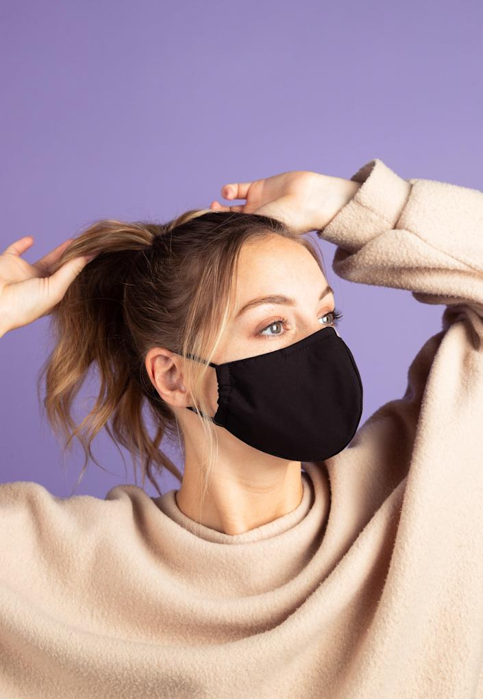 """<h2>Space Mask</h2><br>The Space Mask uses impressive-sounding (and feeling) nanotechnology for its tightly woven filters and is made of three layers including an antibacterial filter, soft cotton, and another nano filter. It's CDC-approved and comes in three sizes for a comfortable fit.<br><br><strong><em><a href=""""https://amzn.to/3nf7YEn"""" rel=""""nofollow noopener"""" target=""""_blank"""" data-ylk=""""slk:Shop Space Mask"""" class=""""link rapid-noclick-resp"""">Shop Space Mask</a></em></strong><br><br><strong>Space Mask</strong> Space Mask, $, available at <a href=""""https://go.skimresources.com/?id=30283X879131&url=https%3A%2F%2Fshopspacemask.com%2F%23product"""" rel=""""nofollow noopener"""" target=""""_blank"""" data-ylk=""""slk:Space Mask"""" class=""""link rapid-noclick-resp"""">Space Mask</a>"""
