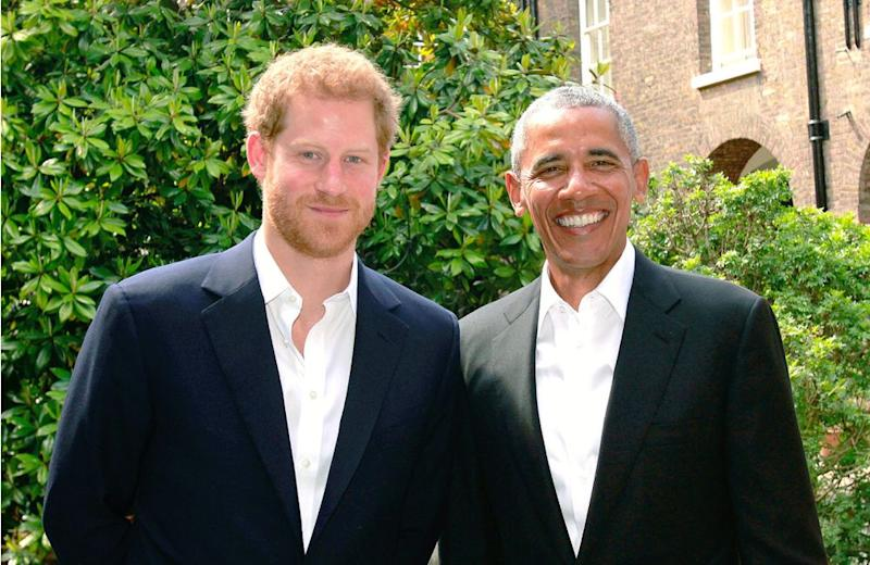 Prince Harry and President Barack Obama