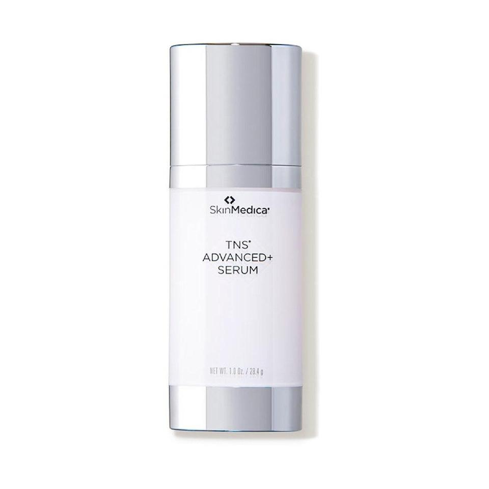 """This luxurious serum is packed with powerful ingredients to smooth wrinkles and lines and improve texture. High-tech peptides and growth factors boost collagen and elastin to help you maintain plump, bouncy skin, which explains why we consider it one of the <a href=""""https://www.glamour.com/gallery/best-wrinkle-creams?mbid=synd_yahoo_rss"""" rel=""""nofollow noopener"""" target=""""_blank"""" data-ylk=""""slk:best anti-wrinkle serums"""" class=""""link rapid-noclick-resp"""">best anti-wrinkle serums</a>. It <em>is</em> an investment—but it has the clinical studies to back it up. $295, Dermstore. <a href=""""https://shop-links.co/1741566507187802497"""" rel=""""nofollow noopener"""" target=""""_blank"""" data-ylk=""""slk:Get it now!"""" class=""""link rapid-noclick-resp"""">Get it now!</a>"""
