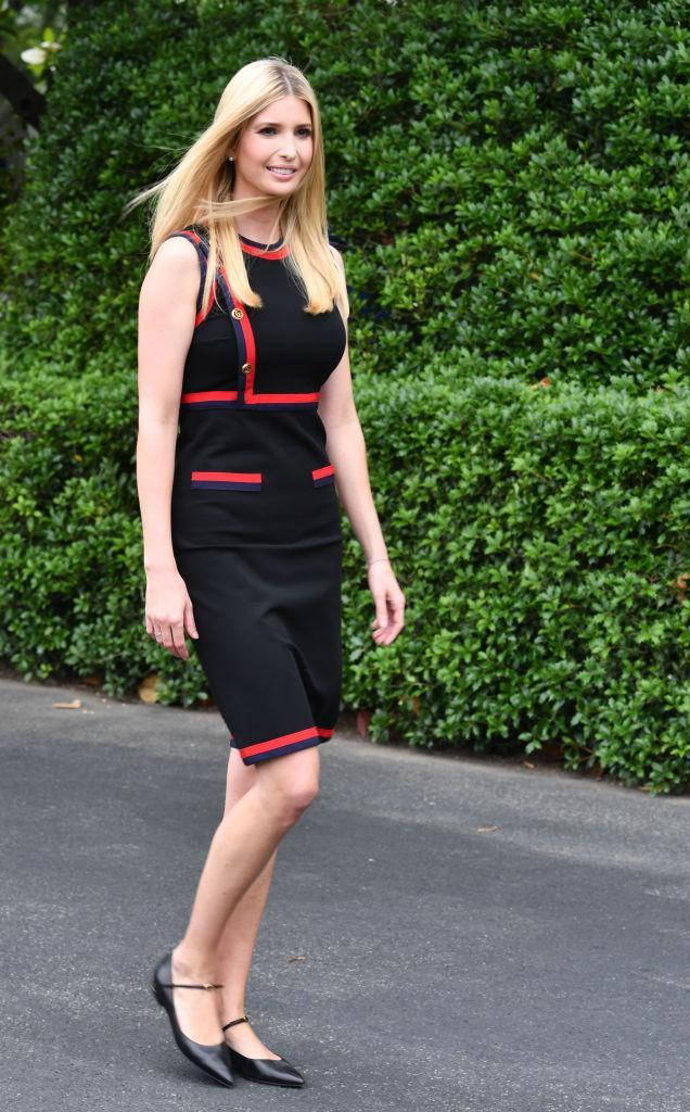 Ivanka Trump at a White House event. (Photo: Getty Images)