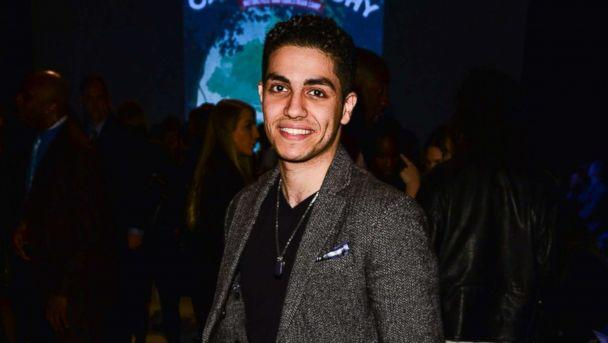 PHOTO: Mena Massoud attends World MasterCard Fashion Week Fall 2015 Collections Day 3 at David Pecaut Square, March 25, 2015 in Toronto, Canada. (George Pimentel/Getty Images)
