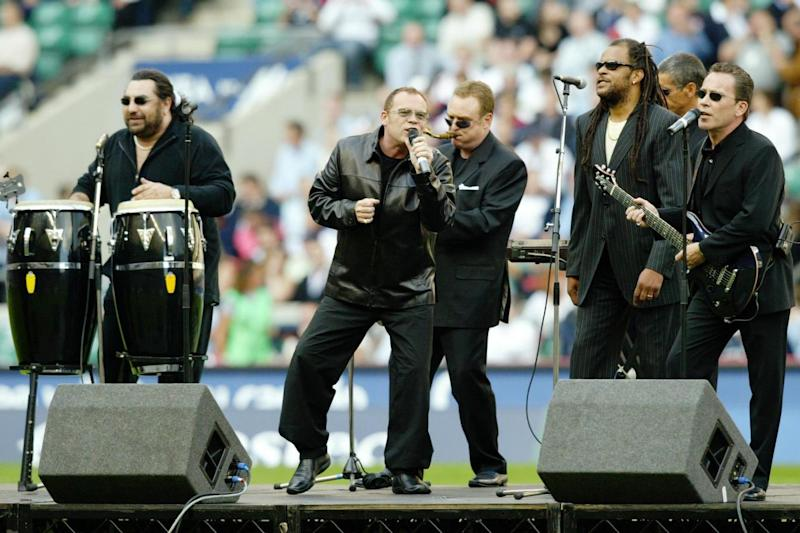 UB40, who had a hit with Swing Low, Sweet Chariot performing in Twickenham. (David Rogers/Getty Images)