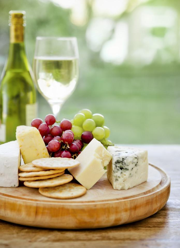 "<p>We're not talking large cuts of meat or protein shakes. ""A good rule of thumb is to pair a protein with each meal or snack,"" says MaryKate O'Riordan, BS, RD. ""Protein metabolizes slowly, meaning that it will keep you feeling fuller longer."" </p><p>O'Riordan recommends combos like cheese with grapes and celery with peanut butter for healthy and filling snack options. ""And, as an added bonus: Protein keeps blood sugars stable for the best fat loss!"" she says.</p>"