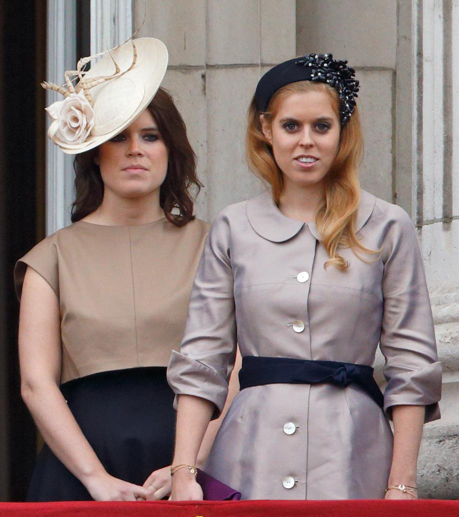 The royal sisters opted for surprisingly neutral tones at the 2015 event. (Getty Images)