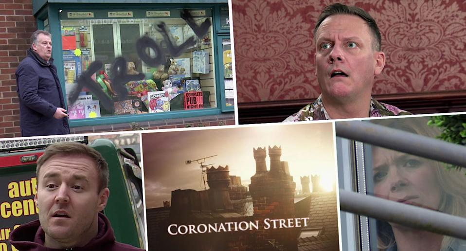 What's ahead on Coronation Street? (ITV)