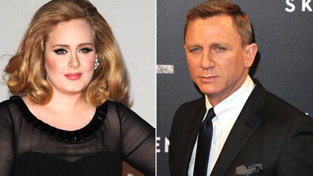 Daniel Craig Cries to Adele