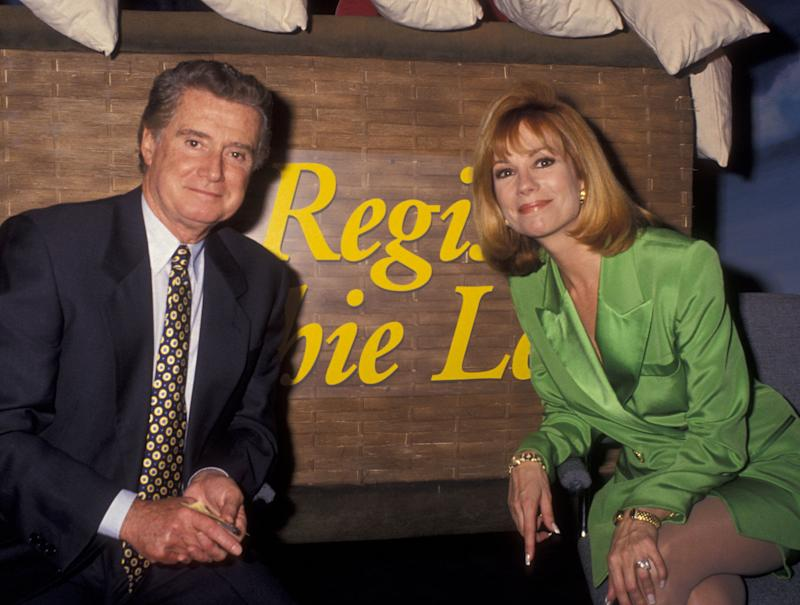 Philbin and Kathie Lee Gifford in January 1994. (Photo: Ron Galella, Ltd. via Getty Images)