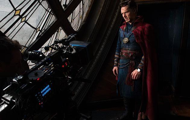 Benedict as Doctor Strange. Source: Marvel