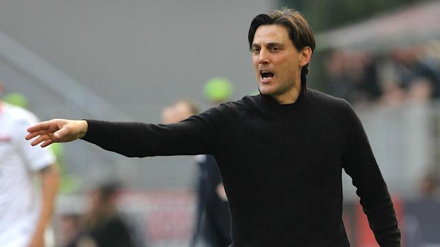 AC Milan's 4-0 win over Palermo lifted them above Inter in the table, but Vincenzo Montella insisted Europe remains the focus for his side.