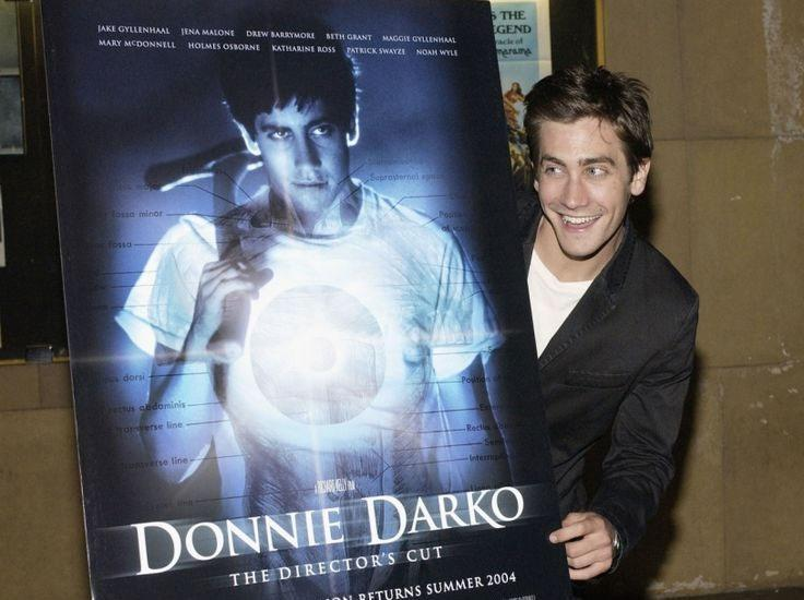 Jake Gyllenhaal at the 2004 launch of the 'Donnie Darko: The Director's Cut' (Getty)