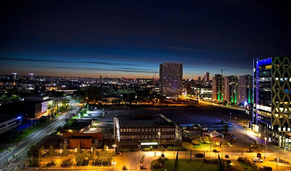 Searches for homes near MediaCity tram stop in Manchester have surged (Peter Byrne/PA) (PA Archive)